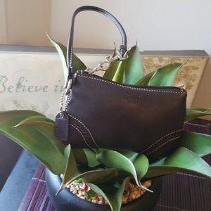 Brand New leather COACH WRISTLET!